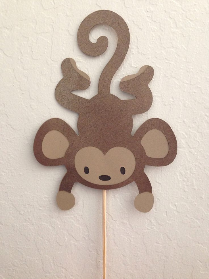 Monkey Party Decorations - hang these instead of the stick