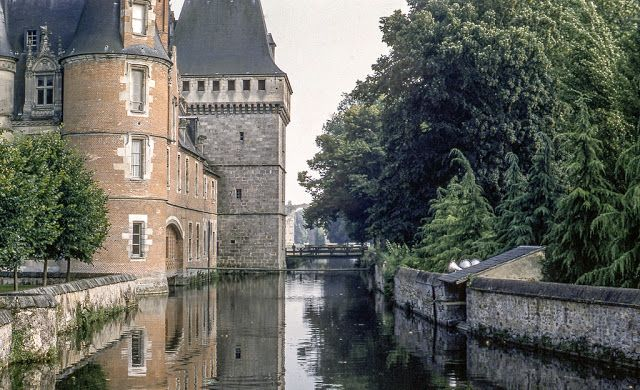 French chateau in June 19, 1960