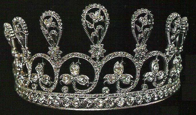 Diamond Diadem of Marie Antoinette.