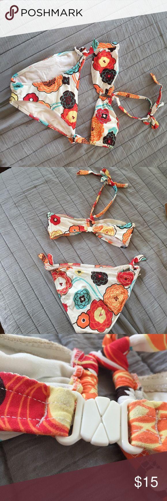 Floral bikini Nice Bikini with no padding Seafolly Swim Bikinis