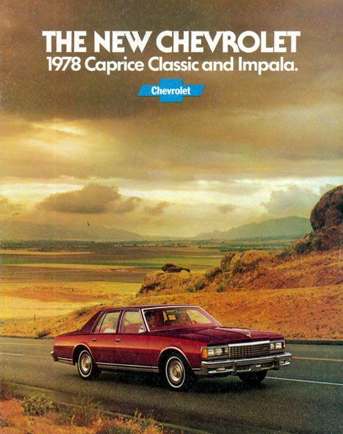 1978 Chevrolet Caprice Classic Brochure