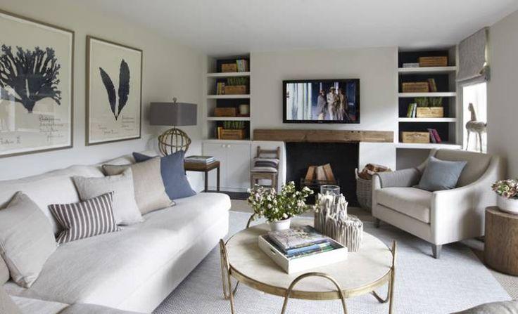 landhausstil Wohnzimmer von Helen Green Design
