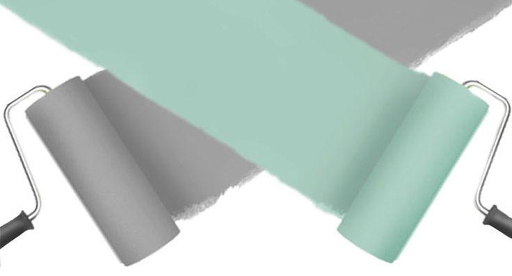10 formas de  combinar colores para pintar paredes • 10 ideas to paint walls in +2 colors