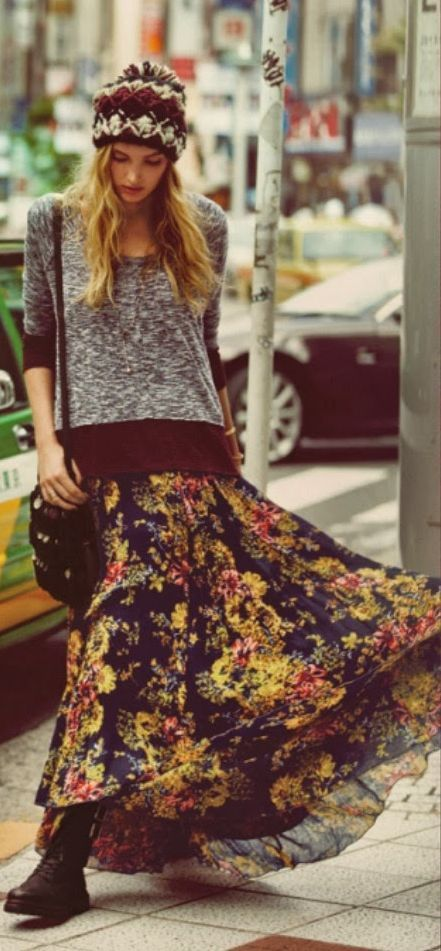 1000 Ideas About Bohemian Winter Fashion On Pinterest Military Skirts Cute Winter Coats And