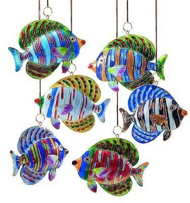 Cloisonne Fish mobile  Fish OrnamentsChristmas ...