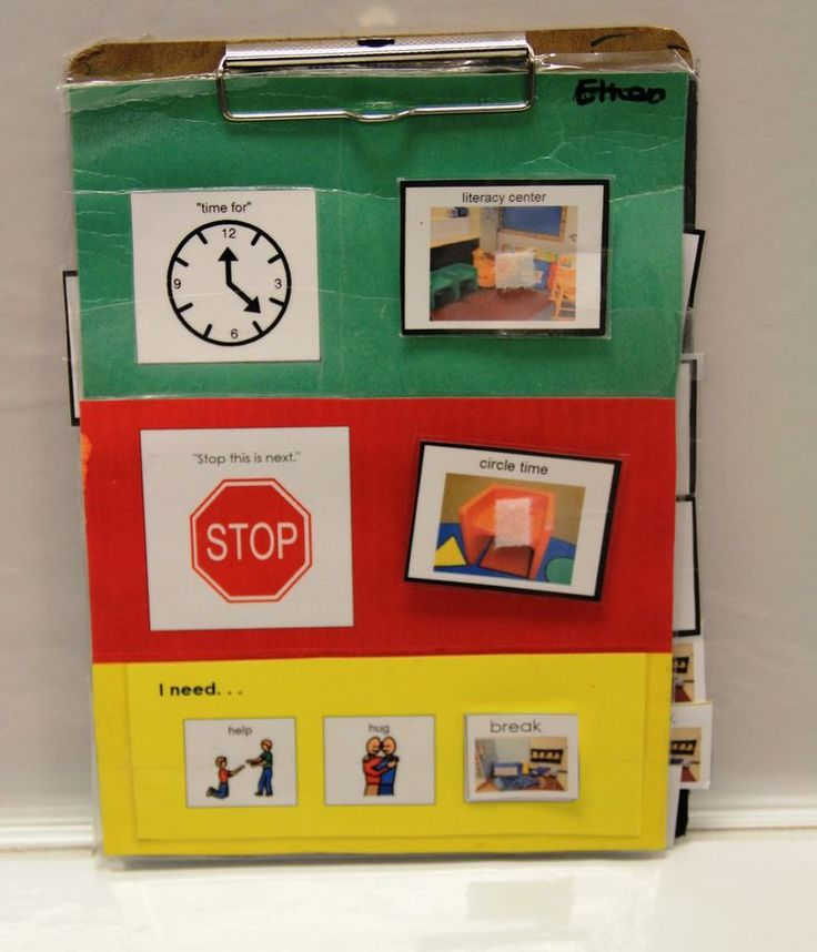 Considerate Classroom: Early Childhood Special Education Edition: Individualized First Then Visual Schedules