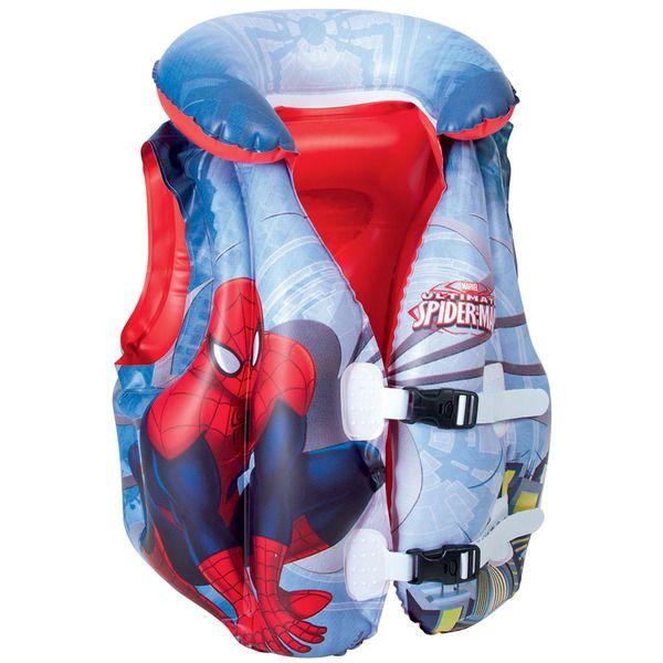 Bestway 98014 Жилет для плавания 51х46 см Spider-Man, 3-6 лет    (24)