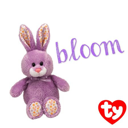 Bloom the purple Basket Beanie bunny!  faa18f4d29f0
