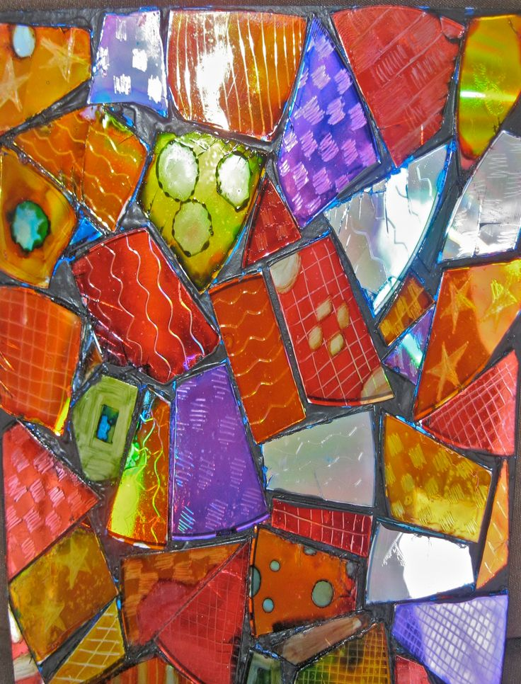 Recycle Art - created at Mimmy's Pickety Place Studio  www.marjistevens.com