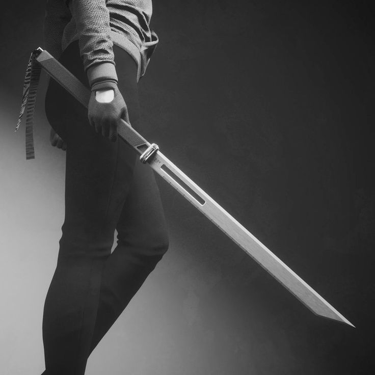 zen and the art of darkness — rhubarbes: ArtStation - Sci-Fi Sword, by Travis...