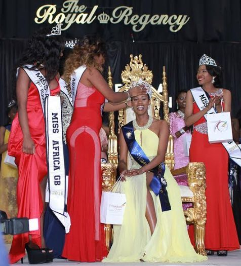 Photos: Pretty Nigerian Lady Sarah Jegede Wins Miss Africa Great Britain   Sarah Jegede a beautiful Nigerian model was crowned Miss Africa Great Britain 2016 last weekend. The Graduate of Social Sciences from the University of Kent beat 23 others to clinch the crown. The Grand Finale took place at the Royal Regency Hall London on Saturday 8th October 2016. She was crowned by her predecessor Susana Owono of Equatorial Guinea. She'll be theambassador for the Queens 4 A Reason Charity. Sarah is…