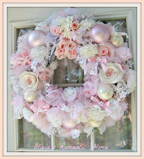 Just because it's so feminine and pink and white are my favorite colors