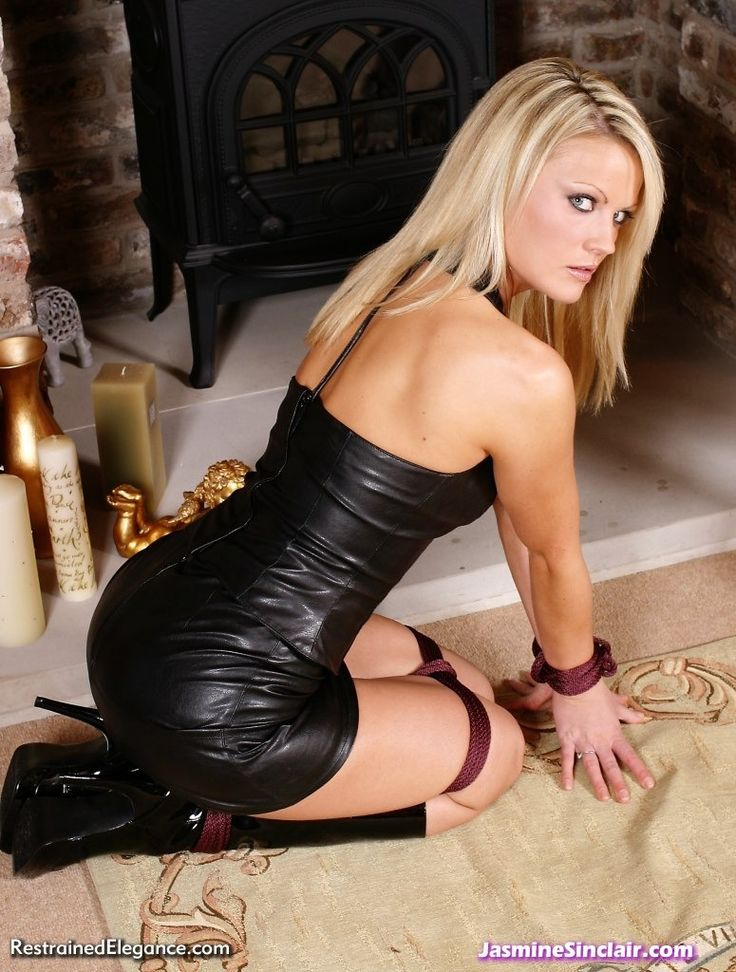 Jasmine Is So Hot Photo New Gurl Leather Dresses
