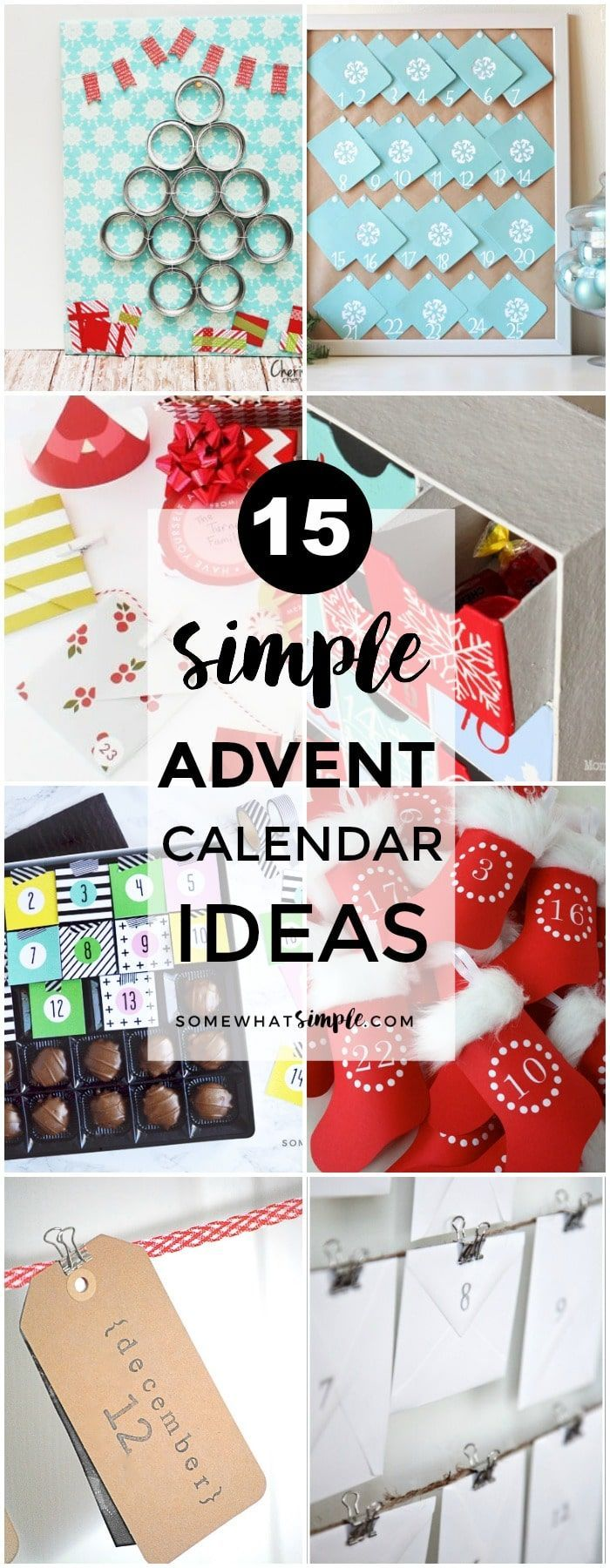 Advent Calendar Gift Ideas : Diy gifts favorite advent calendars ready for some