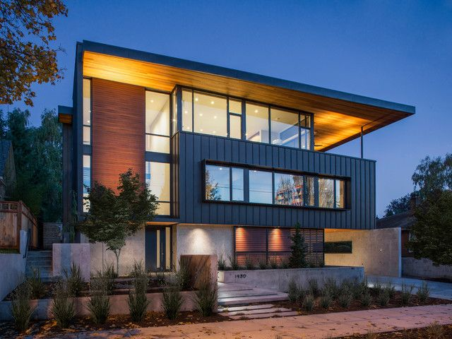 1000 Ideas About Contemporary Home Exteriors On Pinterest
