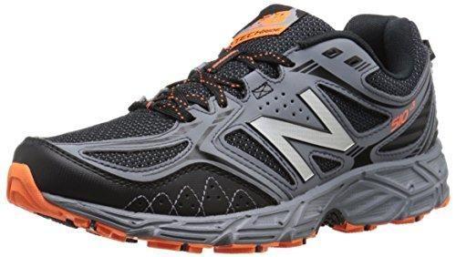 New Balance Men's 510v3 Trail Running Shoe, Black/Grey, 10.5 4E US #trailrunningshoes