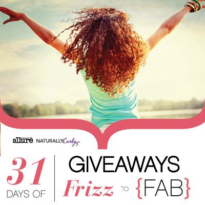 I just entered NaturallyCurly's 31 Days of Giveaways to win some amazing curly hair prizes on NaturallyCurly.com! You should enter too. It's easy, click here: http://www.naturallycurly.com/giveaways/NaturallyCurlys-31-Days-of-Giveaways/st/51817987e9c147.03740693