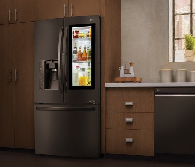 An Insta View Refrigerator Allows You To See The Contents Of Your