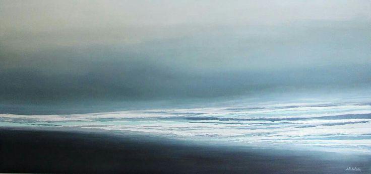 Pejzaż morski, obrazy olejne, obrazy abstrakcyjne Sylwia Michalska