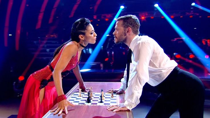 Will Young & Karen Clifton Tango to 'Let's Dance' - Strictly Come Dancin...