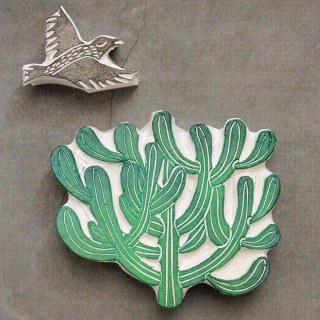 handcrafted rubber stamps. Geninne Zlatkis.