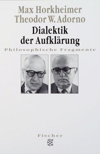 Dialektik der Aufklärung: Philosophische Fragmente von Max Horkheimer, http://www.amazon.de/gp/product/3596274044/ref=cm_sw_r_pi_alp_0yOFrb11P49FT