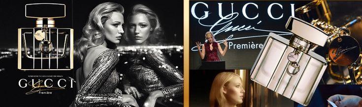 Gucci Premiere női parfüm  A Premiere az, aminek nevezi magát: egy csillogó, luxusdivatot és ultramodern életet megjelenítő illat, mely csodásan komfortos és kellően sikkes ahhoz, hogy a luxusruhák és kiegészítők méltó párja legyen. Míg a Gucci by Gucci az érzékekre hatva az erotikus énünket csiklandozta fel, a Premiere a nőt, méghozzá a sikkes és elegáns nőt hozza felszínre.