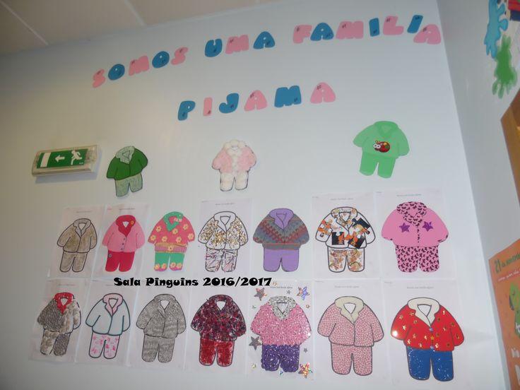 Missão Pijama 2016: decoração de um pijama pelas famílias