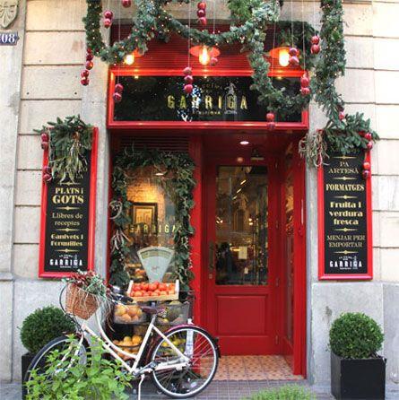 One of my favourites spots in Barcelona - Gourmet shop LA CUINA D'EN GARRIGA ♥