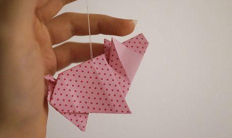 KuneCoco • DIY • Origami Schwein