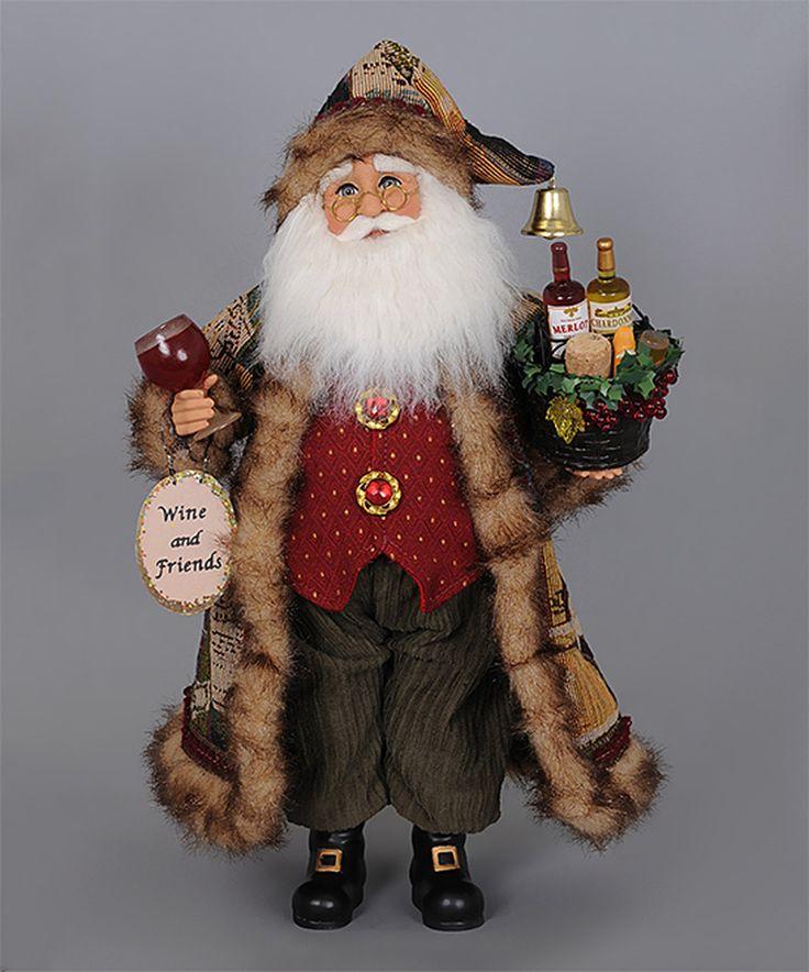 Another great find on #zulily! Basket of Cheer Santa Figurine by Karen Didion #zulilyfinds