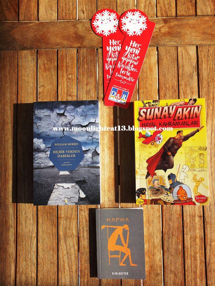 moonlightcat13: Yeni Kitaplarım...