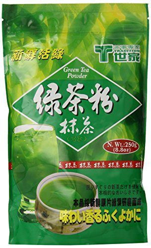 Tradition Pure Green Tea Powder, Matcha Tea Powder, Product of Taiwan, 8.8 Oz - http://teacoffeestore.com/tradition-pure-green-tea-powder-matcha-tea-powder-product-of-taiwan-8-8-oz/