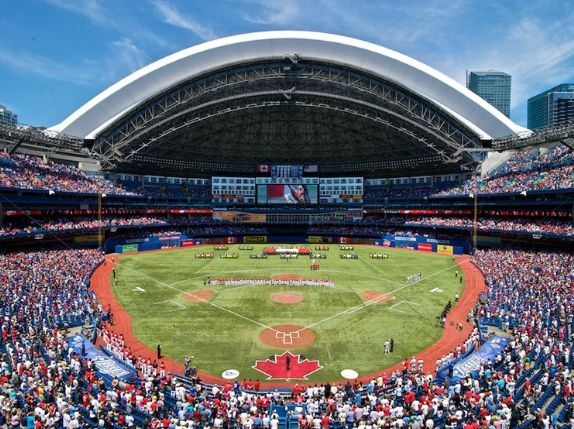 The Rogers Centre, Toronto - Home of the Toronto Blue Jays