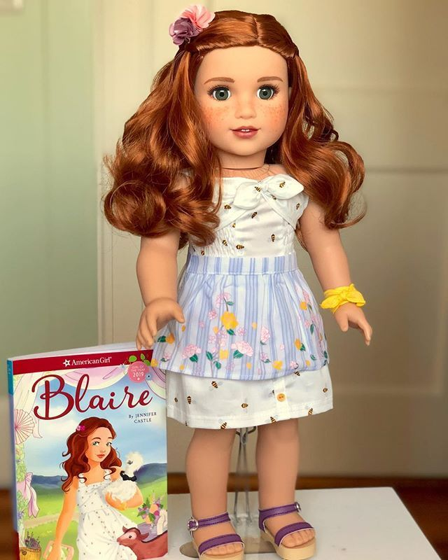 American Girl Doll Blaire Eyes Replacement Parts and Customs