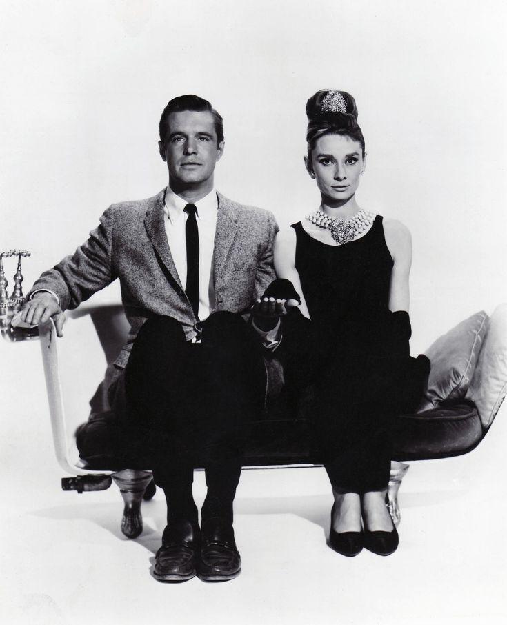 Audrey Hepburn with  George Peppard