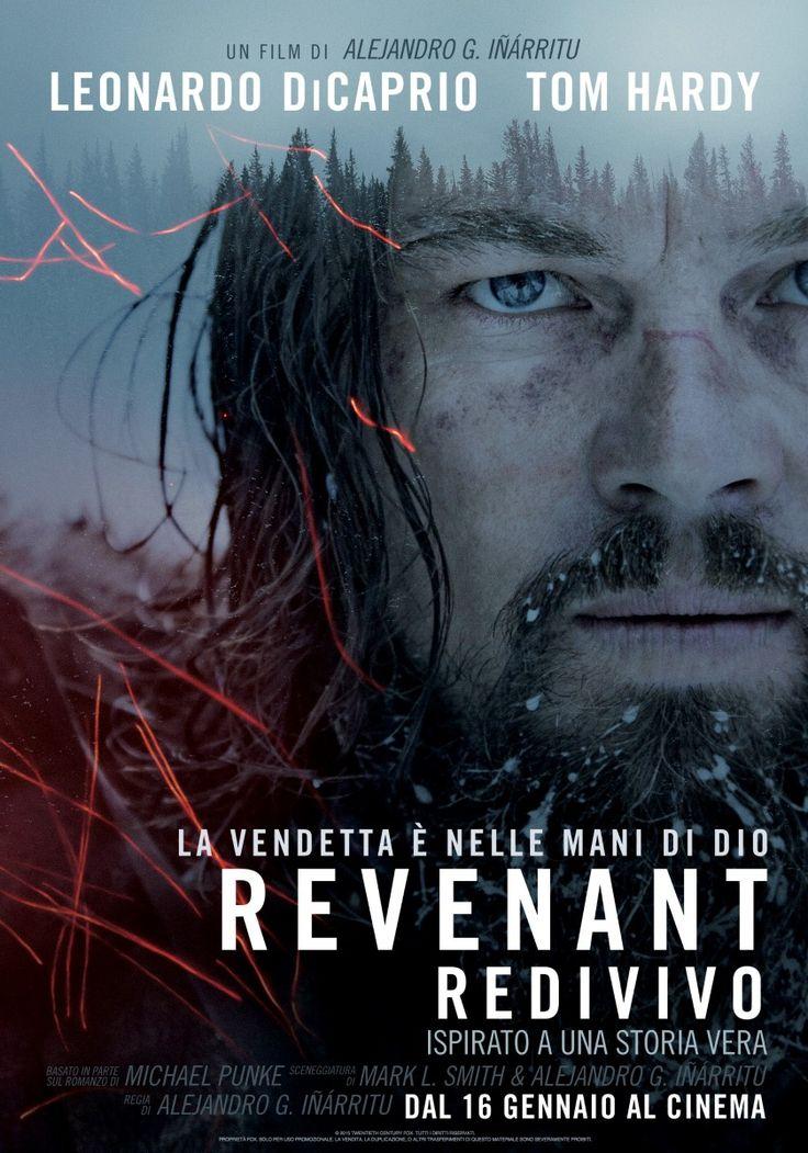 Revenant, scheda del film di Alejandro Inarritu con Leonardo DiCaprio e Tom Hardy, leggi la trama e la recensione, guarda il trailer, trova cinema.