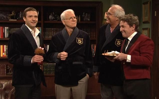 Justin Timberlake hosts SNL for the 5th time.