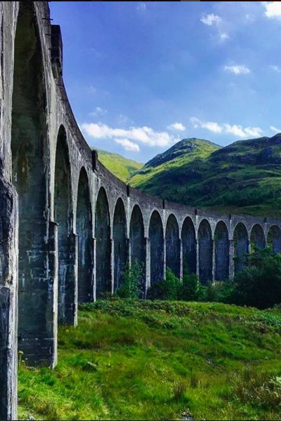Scotland is notorious for its fairytale scenery, and this photo of the Hogwarts Express is proof of its magic. #LiveIntrepid