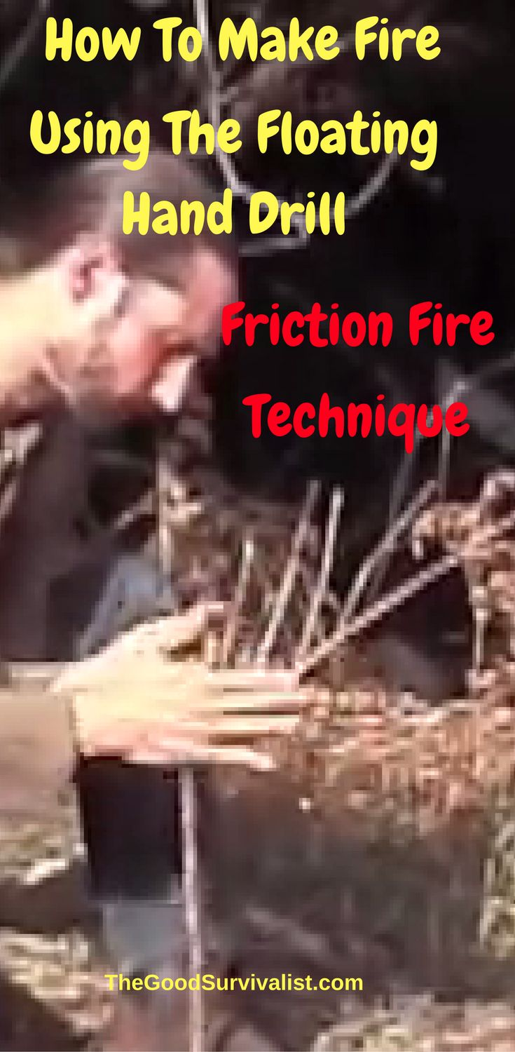 This is a very well done tutorial that will cover everything from A-Z of making friction fire via the floating hand drill method.  http://www.thegoodsurvivalist.com/floating-hand-drill-friction-fire-technique-outstanding-bushcraft-skill/