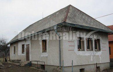 Fotka #1: Ponúkame rodinný dom vhodný aj na chalupu vo Veľkej Lehote, 2214 m2