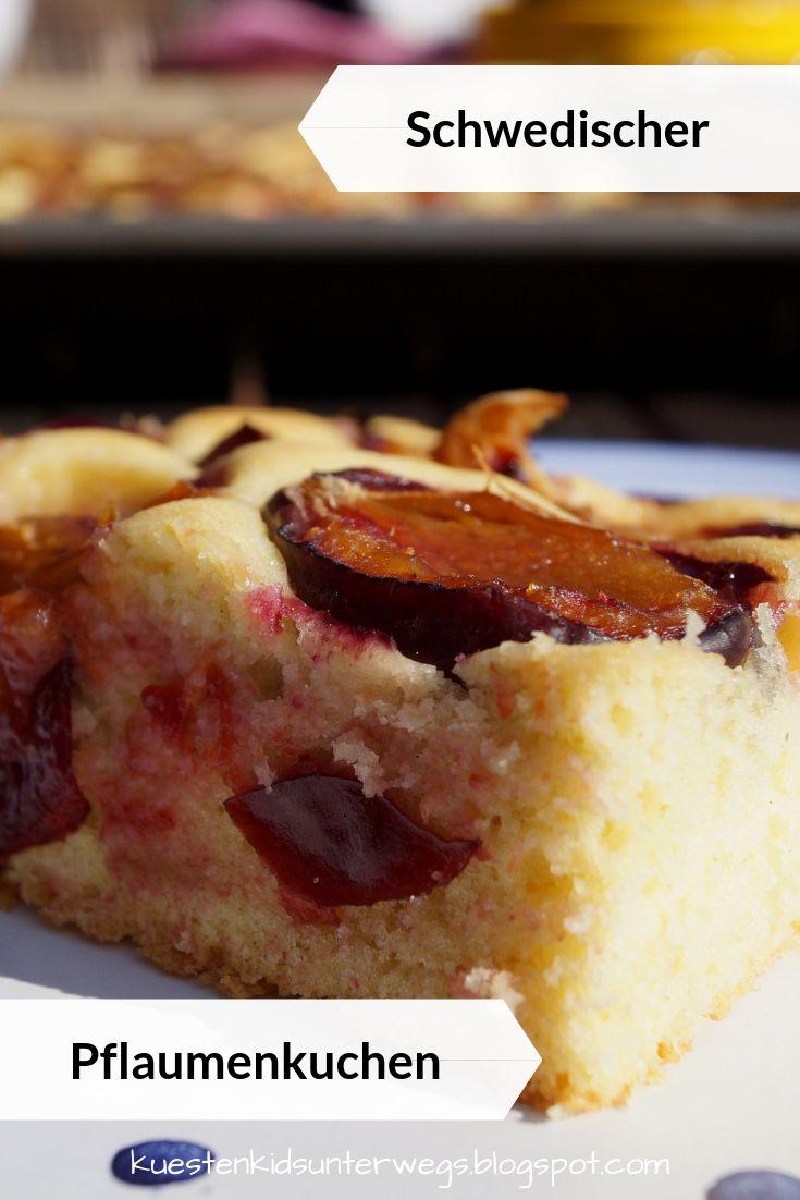 Schwedischer Pflaumenkuchen vom Blech: Einfach und so lecker!