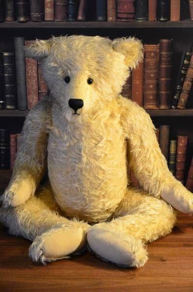 Stier Bears Teddy bear Made by Catherine Wallace Big size Plush doll Vintage #StierBears