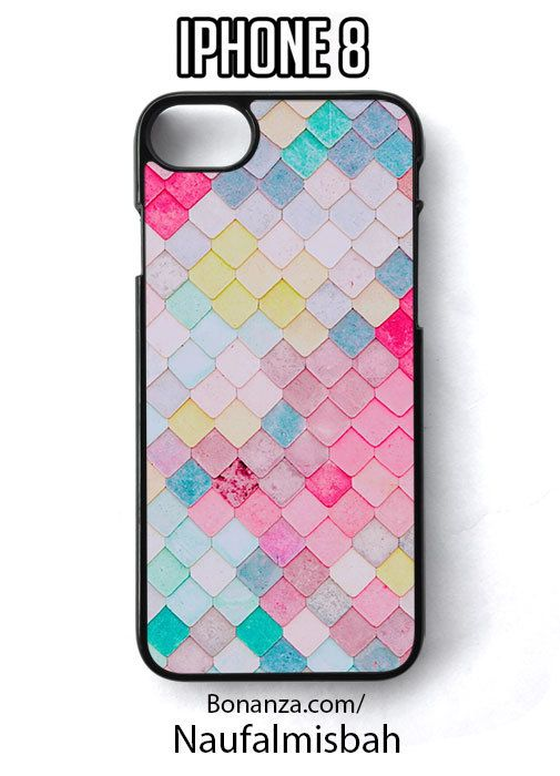 Mermaid Scales Colorful Pattern iPhone 8 Case Cover - Cases, Covers & Skins