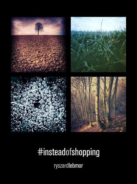 Foto książka: #insteadofshopping #photobook