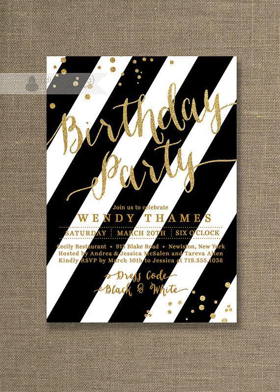 Cheap Gatsby Invitations