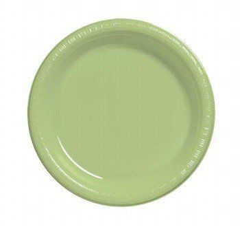 """Pistachio Green 8.75"""" Dinner Plate Plastic Solid 240ct by Creative Converting. $59.14. Bulk by the Case, Pistachio Green 8.75"""" Dinner Plate Plastic Solid 240ct. For each case you will receive 12 individual packages that contain 20ea. Great for large Birthday Parties, Church Events, Sporting Events, Company Parties, Charity Events and more! You save big when you buy by the case!"""