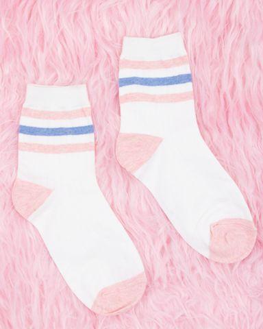 Babe Striped Socks
