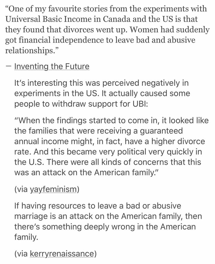 .People legitimately think divorce is worse than abusing your spouse. That's terrifying and disappointing.