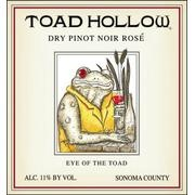 Toad Hollow 2011 Pinot Noir Dry Rose Eye of the Toad Sonoma County    Jul 24, 2012- Toad Hollow is the collaboration of two old friends who retired, more or less, to an existence of peace and quiet in the Hollow, after a life of whirlwind world travel. Our friend and partner, Rodney Strong was an icon in the wine industry.